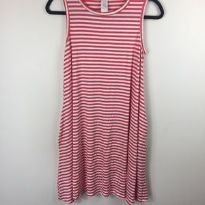 NWT honey & lace sleeveless small swing dress